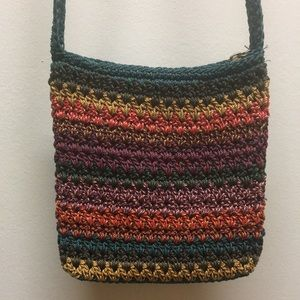 The Sak Small Crocheted Crossbody